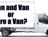 Man and Van or Hire a Van?